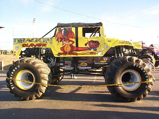 Monster Trucks At Stockton 99 July 2002