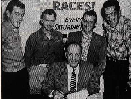 Auto Racing School Seattle2cwashington Area on Inking The Contract A Staple Of Early Motor Racing Publicity Northern